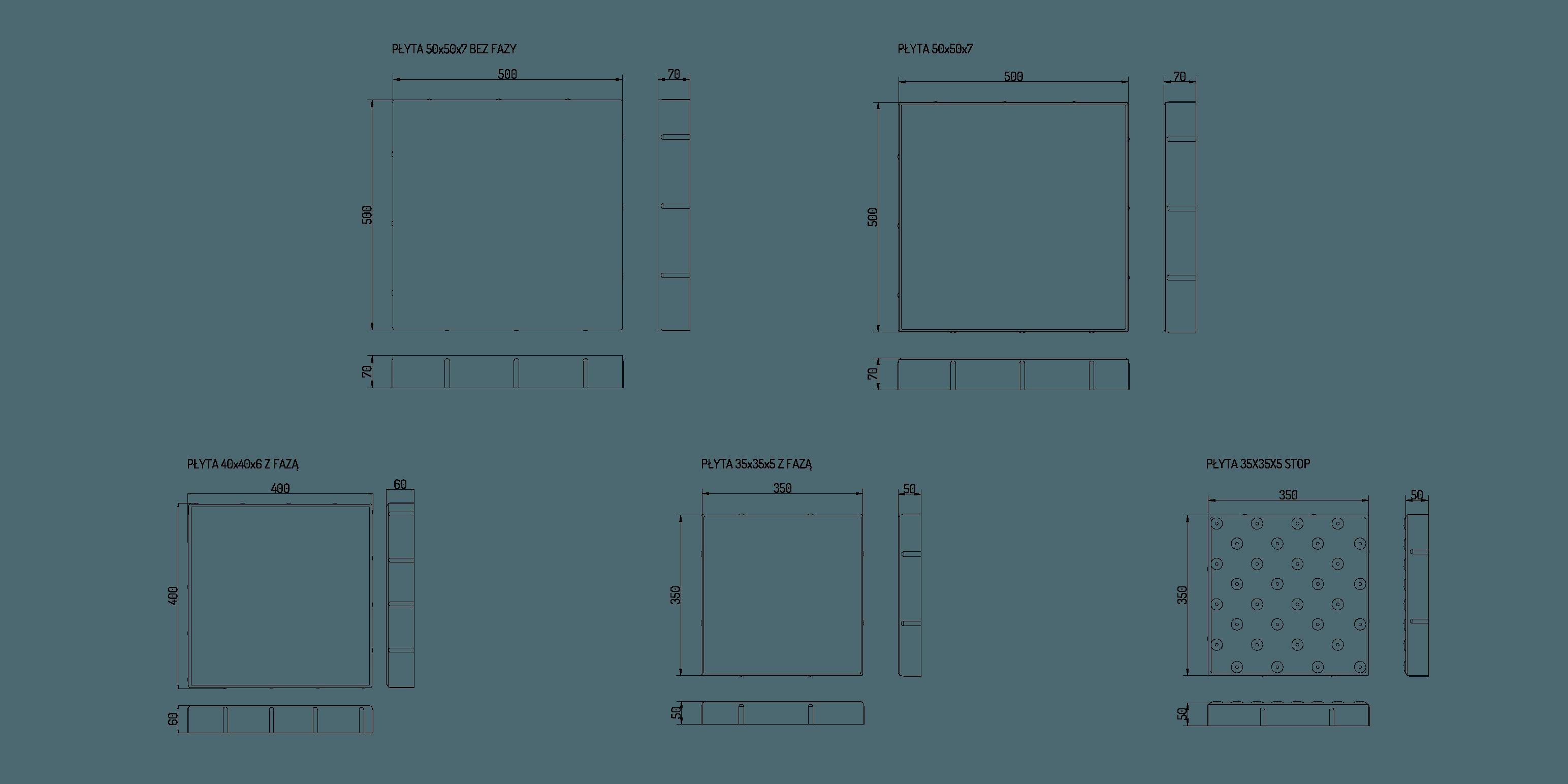 informacje o płycie chodnikowej