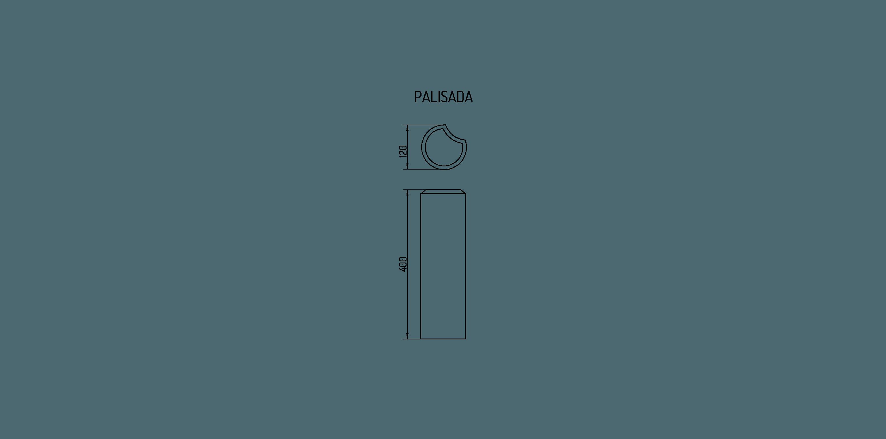 wymiary palisady