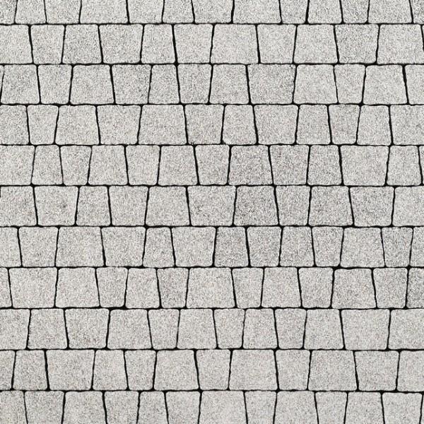 kostka jasnoszary granit