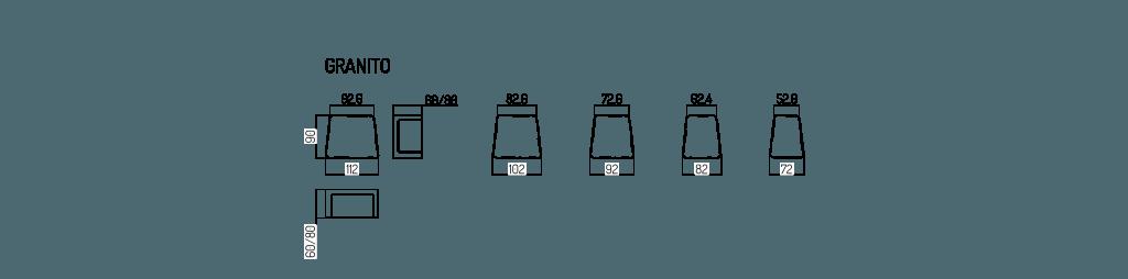 dane techniczne kostka granito