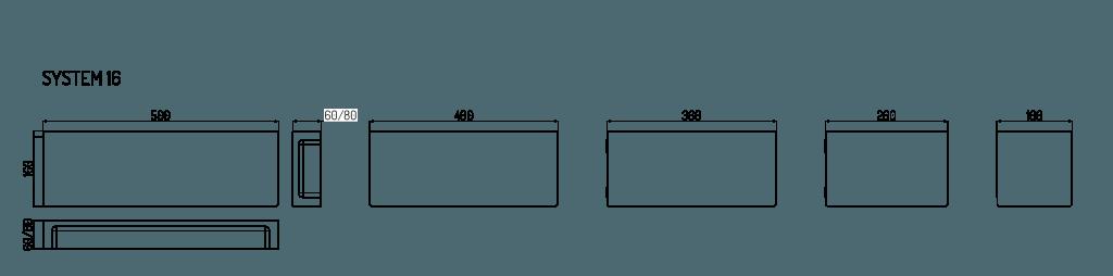 dane techniczne płyty system