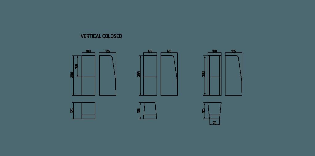 dane techniczne vertical coloseo