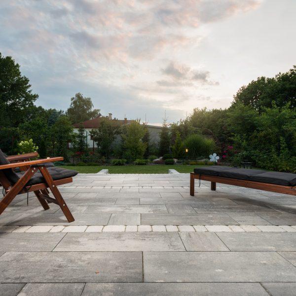 Ogród i kostka brukowa firmy Certus