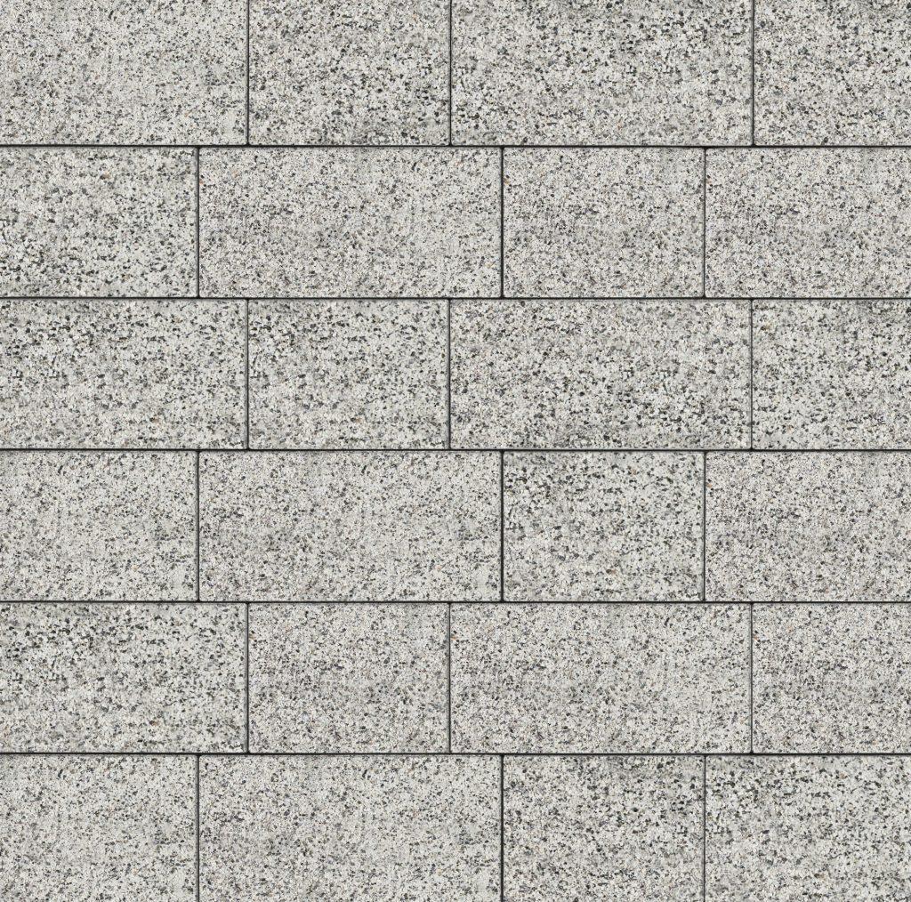 jasnoszary granit w systemie 15